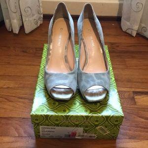 Gianni Bini - Silver Heels - Size 7.5